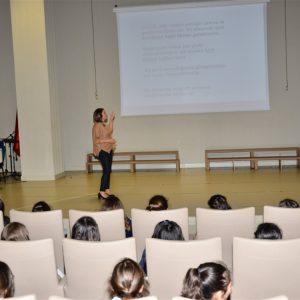 Uzm.Dr. Senem TURAN - Antalya Kolejinde Öğrencilere Ergenlik Semineri 2